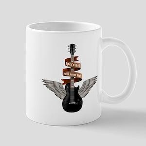e-guitar rock wings Mug