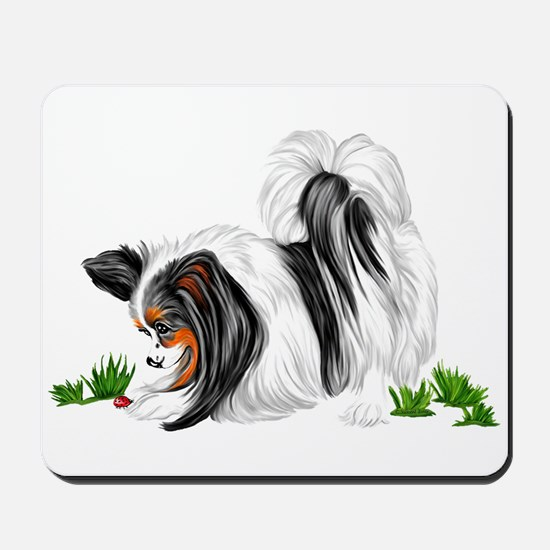 Papillon Lady Bug Mousepad