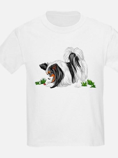 Papillon Lady Bug Kids T-Shirt