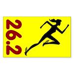 262bblgirl Sticker (Rectangle 50 pk)
