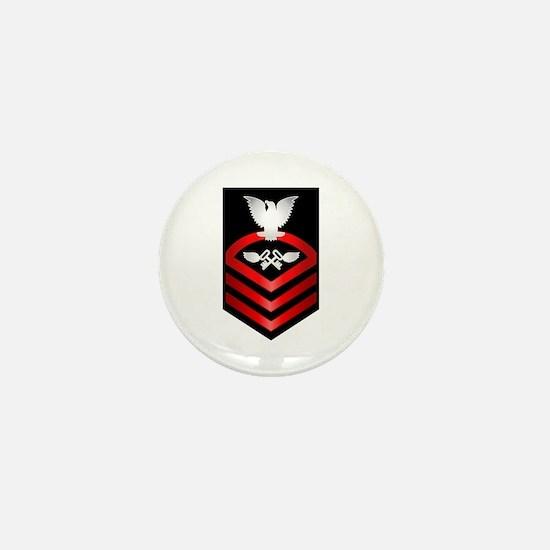 Navy Chief Aviation Storekeeper Mini Button