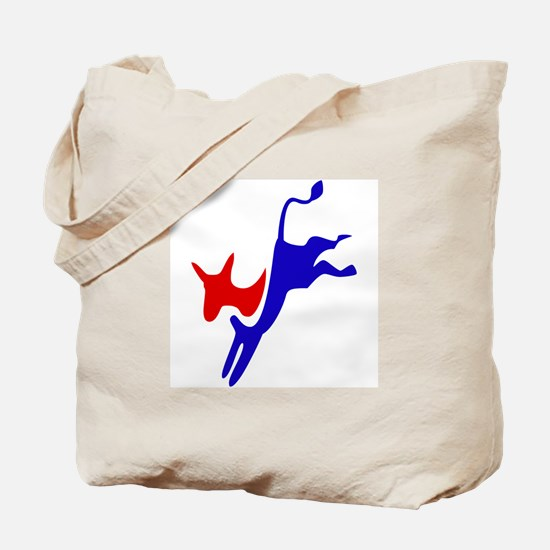 Democratic Party Donkey (Jackass) Tote Bag