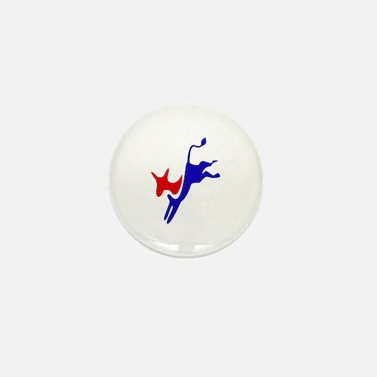 Democratic Party Donkey (Jackass) Mini Button