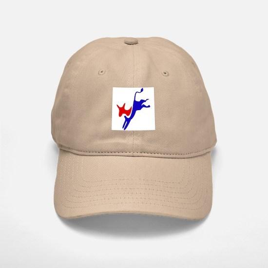 Democratic Party Donkey (Jackass) Baseball Baseball Cap