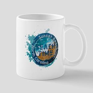 North Carolina - Sunset Beach Mugs
