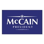 McCain-2008_sticker Sticker (Rectangle 50 pk)