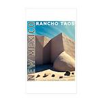 New Mexico Sticker (Rectangle 50 pk)