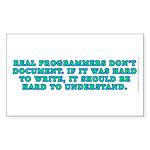 real_ggs Sticker (Rectangle 50 pk)