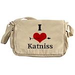 I Heart Katniss Messenger Bag