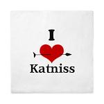 I Heart Katniss Queen Duvet