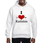 I Heart Katniss Hooded Sweatshirt