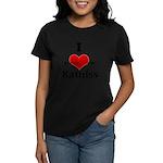 I Heart Katniss Women's Dark T-Shirt