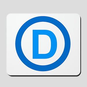 Democratic D Design Mousepad