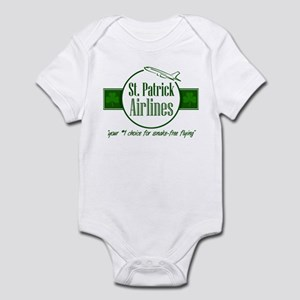 """""""St. Patrick Airlines"""" Infant Creeper"""