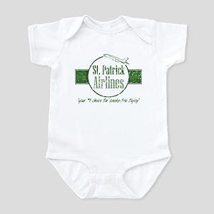 """St. Patrick Airlines"" (vintage) Infant Creeper"