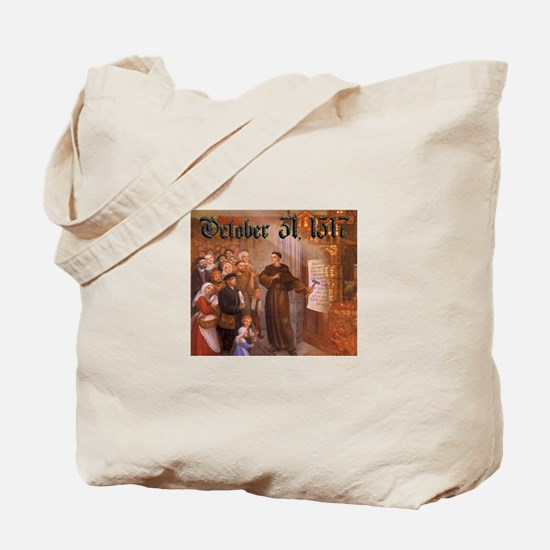 Reformation Day- October 31, 1517 Tote Bag