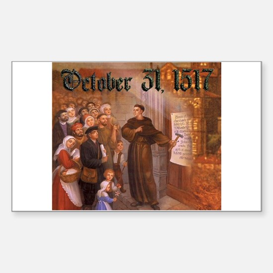 Reformation Day- October 31, 1517 Decal