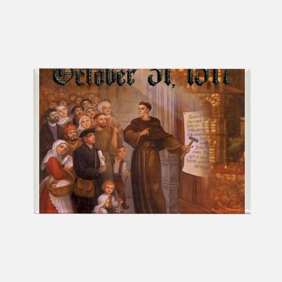 Reformation Day- October 31, 1517 Rectangle Magnet