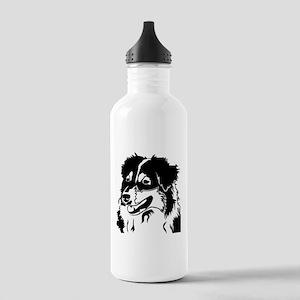 AUSSIE HEAD Stainless Water Bottle 1.0L