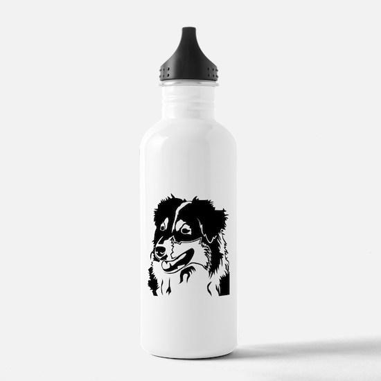 AUSSIE HEAD Water Bottle