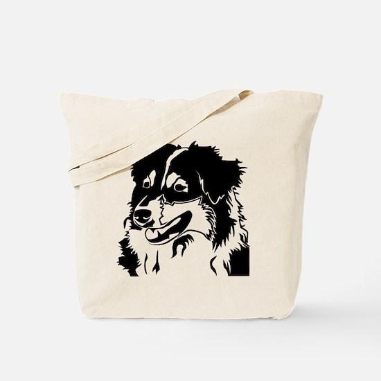 AUSSIE HEAD Tote Bag
