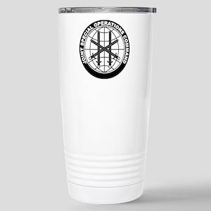 JSOC B-W Stainless Steel Travel Mug