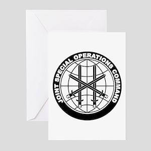 JSOC B-W Greeting Cards (Pk of 10)
