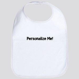 Personalize Me! Bib