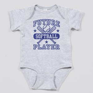 Future Softball Player Baby Bodysuit
