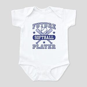 Future Softball Player Infant Bodysuit
