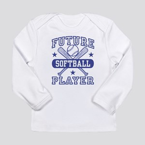 Future Softball Player Long Sleeve Infant T-Shirt