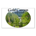 Gold Canyon Sticker (Rectangle 50 pk)