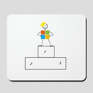Microsoft is the winner Mousepad
