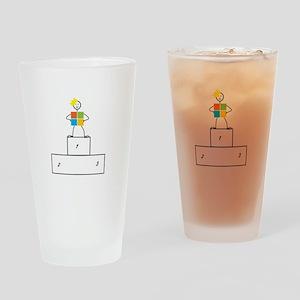 Microsoft is the winner Drinking Glass