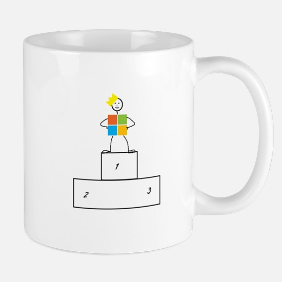 Microsoft is the winner Mug