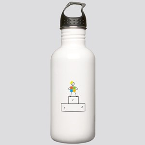 Microsoft is the winner Stainless Water Bottle 1.0