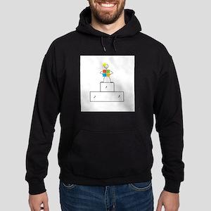 Microsoft is the winner Hoodie (dark)
