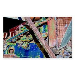Machine Sticker (Rectangle 50 pk)