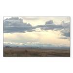 Prairie Sky Sticker (Rectangle 50 pk)