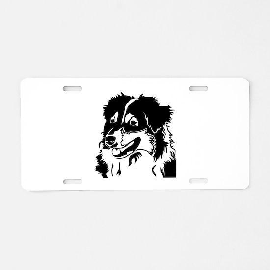 AUSSIE HEAD Aluminum License Plate