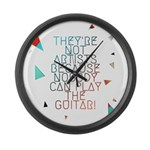 Theyre not artists Large Wall Clock