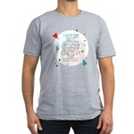 Theyre not artists Men's Fitted T-Shirt (dark)