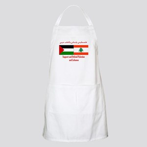 Palestine and Lebanon BBQ Apron