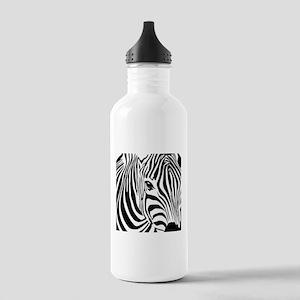 Zebra Print Stainless Water Bottle 1.0L
