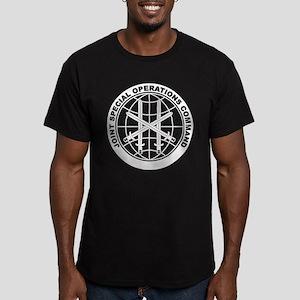 JSOC - B Men's Fitted T-Shirt (dark)