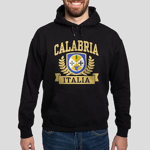 Calabria Italia Coat of Arms Hoodie (dark)