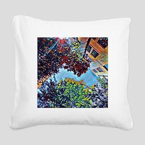 Asheville Square Canvas Pillow