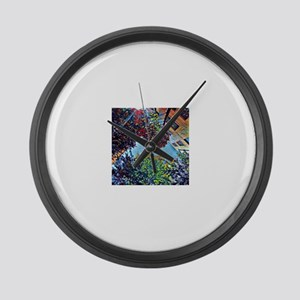 Asheville Large Wall Clock