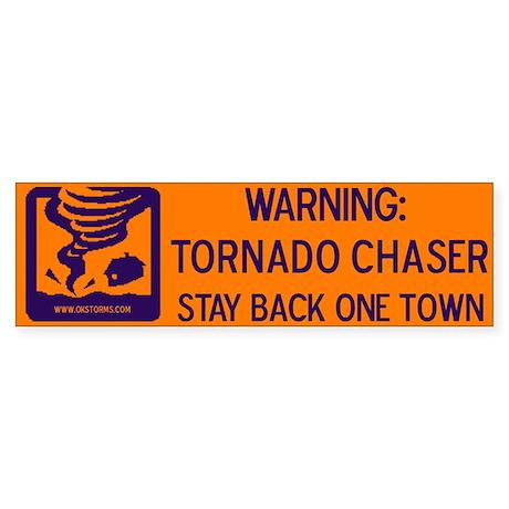 Tornado Chaser, Storm Chaser Bumper Sticker