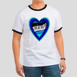 Piano Heart Ringer T